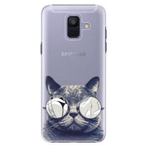 Plastové pouzdro iSaprio Šílená Číča 01 na mobil Samsung Galaxy A6