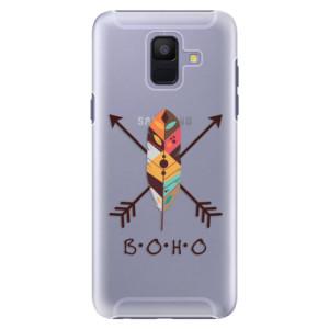 Plastové pouzdro iSaprio BOHO na mobil Samsung Galaxy A6