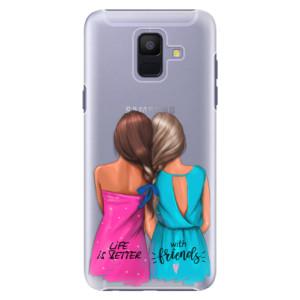 Plastové pouzdro iSaprio Best Friends na mobil Samsung Galaxy A6