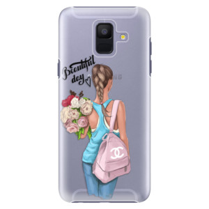 Plastové pouzdro iSaprio Beautiful Day na mobil Samsung Galaxy A6