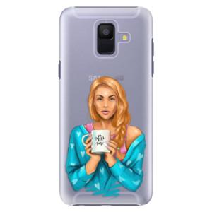 Plastové pouzdro iSaprio Coffee Now Zrzka na mobil Samsung Galaxy A6