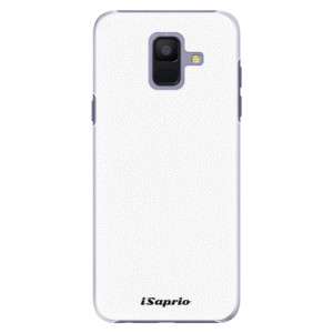 Plastové pouzdro iSaprio 4Pure bílé na mobil Samsung Galaxy A6
