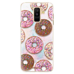 Plastové pouzdro iSaprio Donutky Všude 11 na mobil Samsung Galaxy A6 Plus