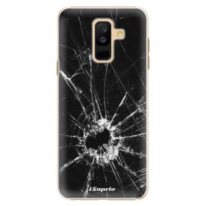 Plastové pouzdro iSaprio Broken Glass 10 na mobil Samsung Galaxy A6 Plus