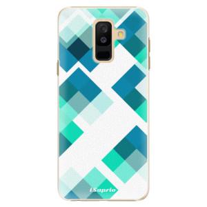 Plastové pouzdro iSaprio Abstract Squares 11 na mobil Samsung Galaxy A6 Plus