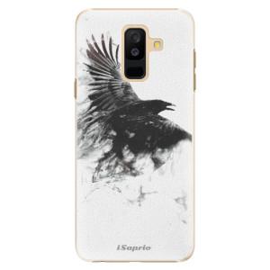 Plastové pouzdro iSaprio Havran 01 na mobil Samsung Galaxy A6 Plus