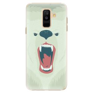 Plastové pouzdro iSaprio Naštvanej Medvěd na mobil Samsung Galaxy A6 Plus