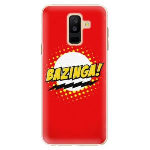 Plastové pouzdro iSaprio Bazinga 01 na mobil Samsung Galaxy A6 Plus