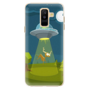 Plastové pouzdro iSaprio Ufouni 01 na mobil Samsung Galaxy A6 Plus