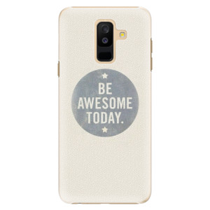 Plastové pouzdro iSaprio Awesome 02 na mobil Samsung Galaxy A6 Plus