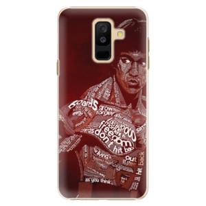 Plastové pouzdro iSaprio Bruce Lee na mobil Samsung Galaxy A6 Plus