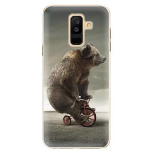 Plastové pouzdro iSaprio Medvěd 01 na mobil Samsung Galaxy A6 Plus