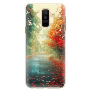 Plastové pouzdro iSaprio Podzim 03 na mobil Samsung Galaxy A6 Plus