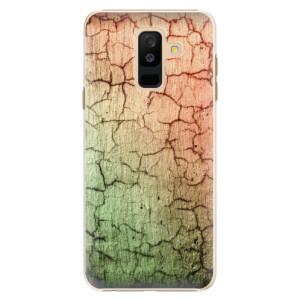 Plastové pouzdro iSaprio Rozpraskaná Zeď 01 na mobil Samsung Galaxy A6 Plus