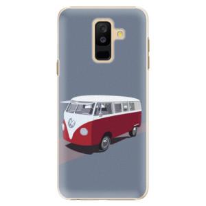 Plastové pouzdro iSaprio VW Bus na mobil Samsung Galaxy A6 Plus