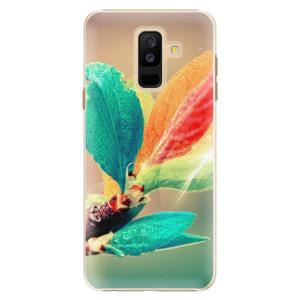 Plastové pouzdro iSaprio Podzim 02 na mobil Samsung Galaxy A6 Plus