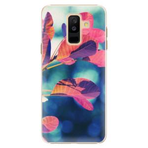 Plastové pouzdro iSaprio Podzim 01 na mobil Samsung Galaxy A6 Plus