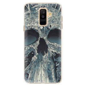 Plastové pouzdro iSaprio Abstract Skull na mobil Samsung Galaxy A6 Plus