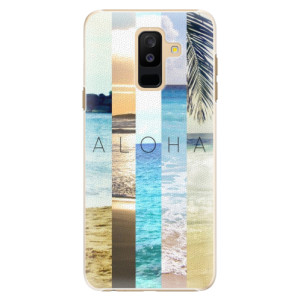 Plastové pouzdro iSaprio Aloha 02 na mobil Samsung Galaxy A6 Plus