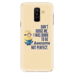 Plastové pouzdro iSaprio Be Awesome na mobil Samsung Galaxy A6 Plus