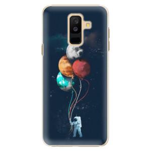 Plastové pouzdro iSaprio Balónky 02 na mobil Samsung Galaxy A6 Plus