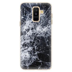 Plastové pouzdro iSaprio Praskliny na mobil Samsung Galaxy A6 Plus