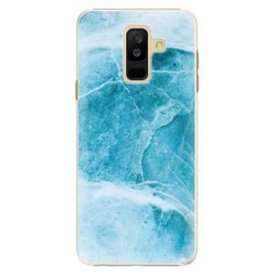 Plastové pouzdro iSaprio Blue Marble na mobil Samsung Galaxy A6 Plus