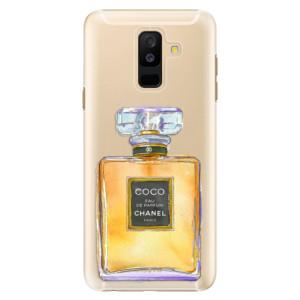 Plastové pouzdro iSaprio Chanel Gold na mobil Samsung Galaxy A6 Plus