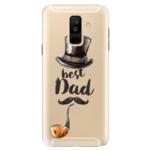 Plastové pouzdro iSaprio Best Dad na mobil Samsung Galaxy A6 Plus