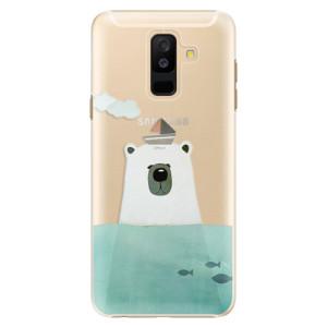 Plastové pouzdro iSaprio Medvěd s Lodí na mobil Samsung Galaxy A6 Plus