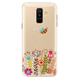 Plastové pouzdro iSaprio Včelka Pája 01 na mobil Samsung Galaxy A6 Plus