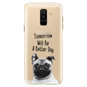 Plastové pouzdro iSaprio Better Day 01 na mobil Samsung Galaxy A6 Plus
