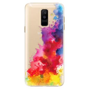 Plastové pouzdro iSaprio Color Splash 01 na mobil Samsung Galaxy A6 Plus