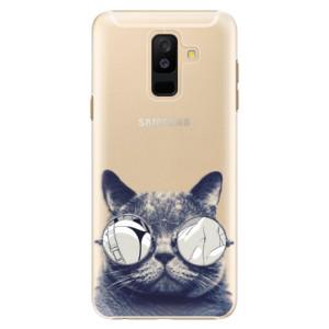 Plastové pouzdro iSaprio Šílená Číča 01 na mobil Samsung Galaxy A6 Plus