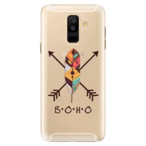 Plastové pouzdro iSaprio BOHO na mobil Samsung Galaxy A6 Plus