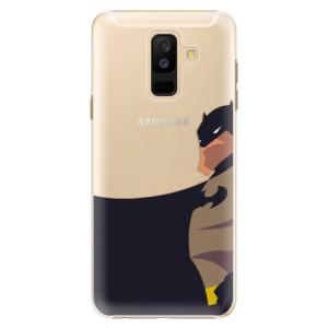 Plastové pouzdro iSaprio BaT Komiks na mobil Samsung Galaxy A6 Plus