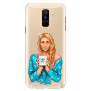 Plastové pouzdro iSaprio Coffee Now Zrzka na mobil Samsung Galaxy A6 Plus