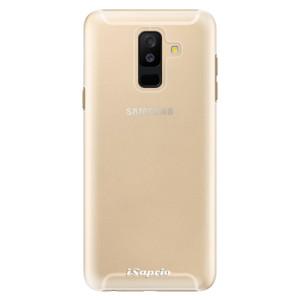Plastové pouzdro iSaprio 4Pure mléčné bez potisku na mobil Samsung Galaxy A6 Plus