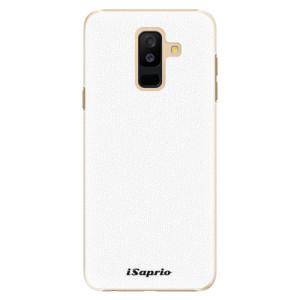 Plastové pouzdro iSaprio 4Pure bílé na mobil Samsung Galaxy A6 Plus