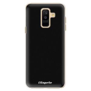 Plastové pouzdro iSaprio 4Pure černé na mobil Samsung Galaxy A6 Plus