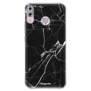 Plastové pouzdro iSaprio Black Marble 18 na mobil Asus ZenFone 5 ZE620KL