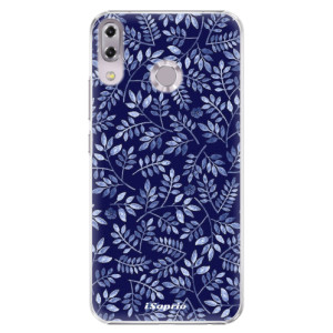 Plastové pouzdro iSaprio Blue Leaves 05 na mobil Asus ZenFone 5 ZE620KL
