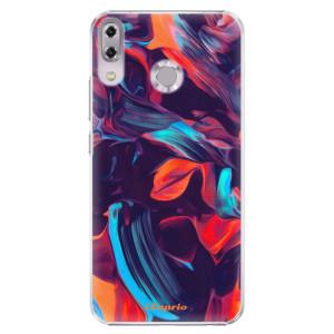 Plastové pouzdro iSaprio Barevný mramor 19 na mobil Asus ZenFone 5 ZE620KL