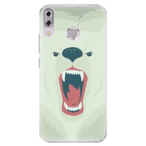 Plastové pouzdro iSaprio Naštvanej Medvěd na mobil Asus ZenFone 5 ZE620KL
