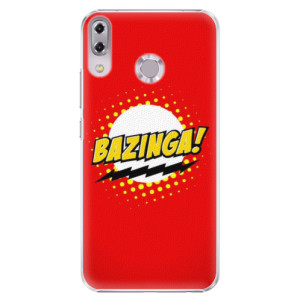 Plastové pouzdro iSaprio Bazinga 01 na mobil Asus ZenFone 5 ZE620KL