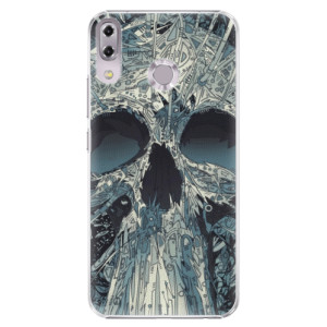 Plastové pouzdro iSaprio Abstract Skull na mobil Asus ZenFone 5 ZE620KL