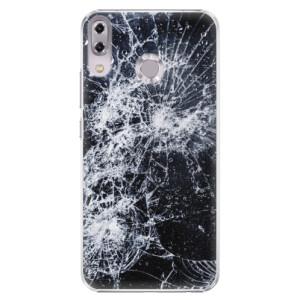 Plastové pouzdro iSaprio Praskliny na mobil Asus ZenFone 5 ZE620KL