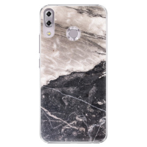 Plastové pouzdro iSaprio BW Mramor na mobil Asus ZenFone 5 ZE620KL