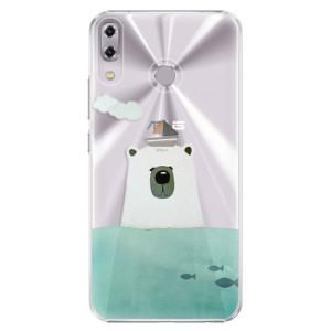 Plastové pouzdro iSaprio Medvěd s Lodí na mobil Asus ZenFone 5 ZE620KL