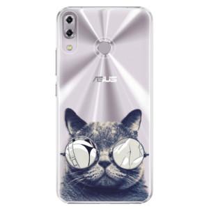 Plastové pouzdro iSaprio Šílená Číča 01 na mobil Asus ZenFone 5 ZE620KL